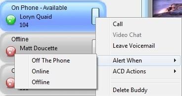 Communicator Buddy alerts when